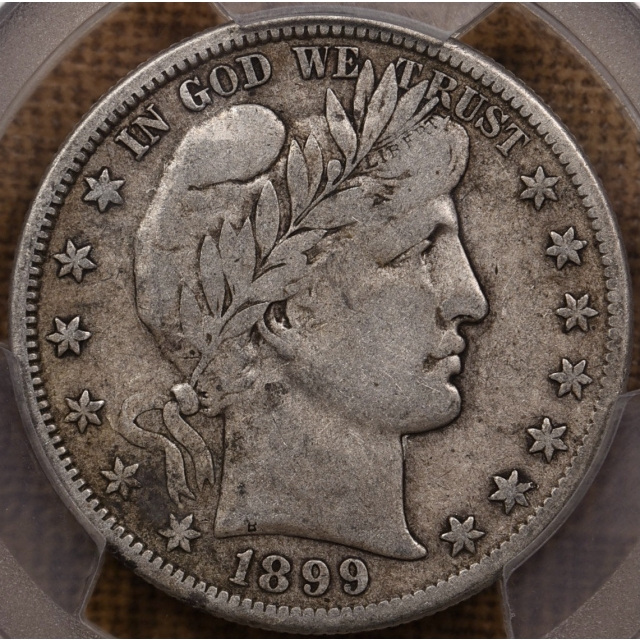 1899-S Barber Half Dollar PCGS VF20