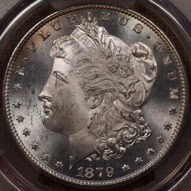 1879-S Morgan Dollar PCGS MS65, a perfect gem