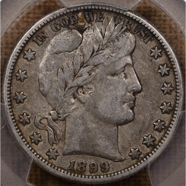 1899-O Barber Half Dollar PCGS VF25