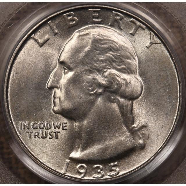 1935 Washington Quarter PCGS MS66