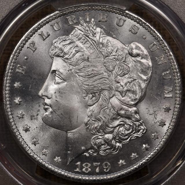 1879-S Morgan Dollar PCGS MS66 CAC