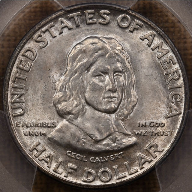 1934 Maryland Silver Commemorative PCGS MS65
