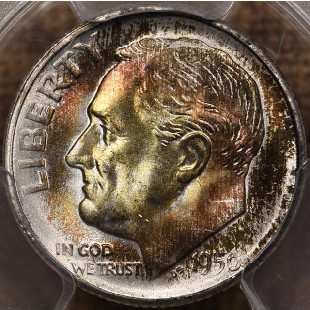 1950-S Roosevelt Dime PCGS MS67