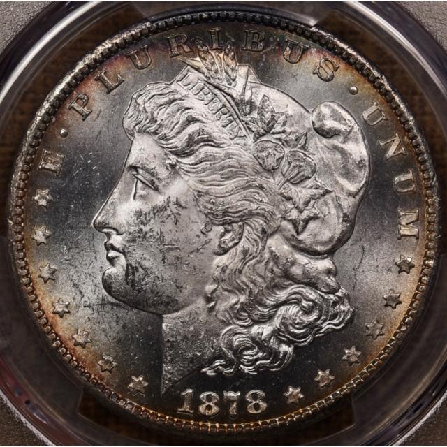 1878-CC VAM-1B Morgan Dollar PCGS MS63