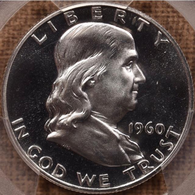 1960 Franklin Half Dollar PCGS PR68 CAM