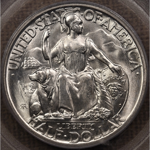 1935-S San Diego Silver Commemorative PCGS MS65 OGH
