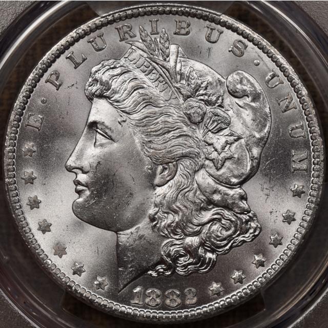 1882-CC Morgan Dollar PCGS MS65 CAC