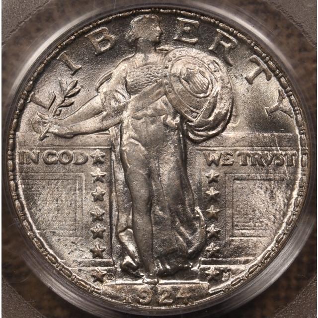 1924-D Standing Liberty Quarter PCGS MS64 OGH