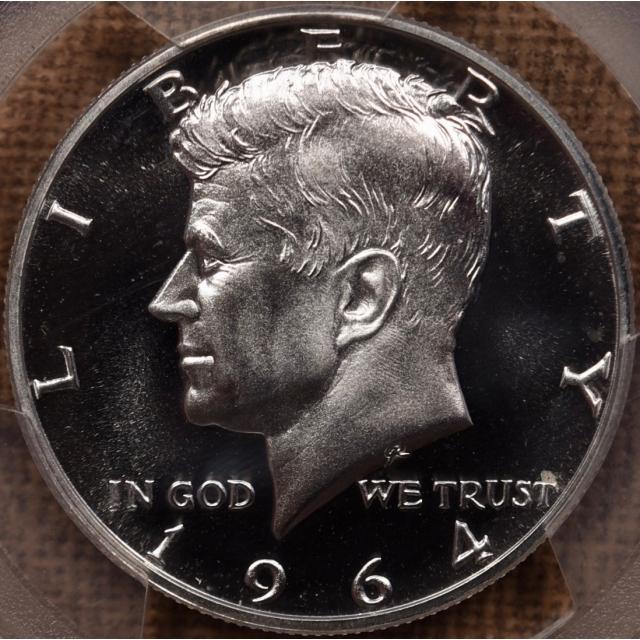1964 Kennedy Half Dollar PCGS PR67 CAM