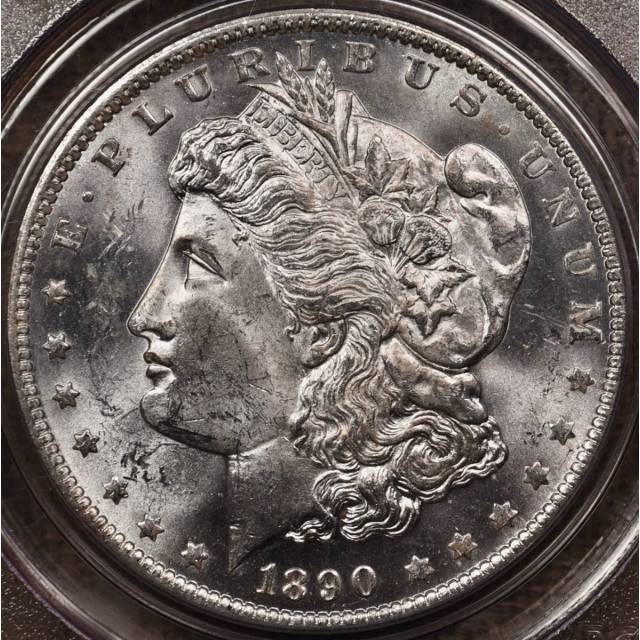 1890-O Morgan Dollar PCGS MS63