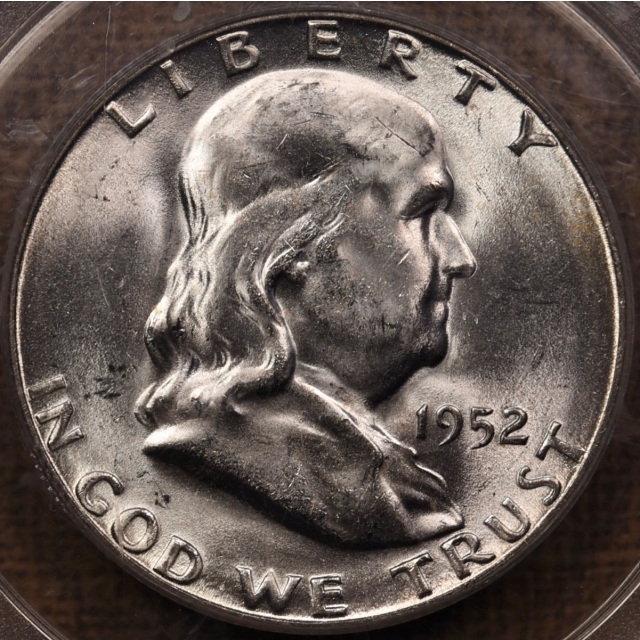 1952-S Franklin Half Dollar PCGS MS64 FBL OGH CAC