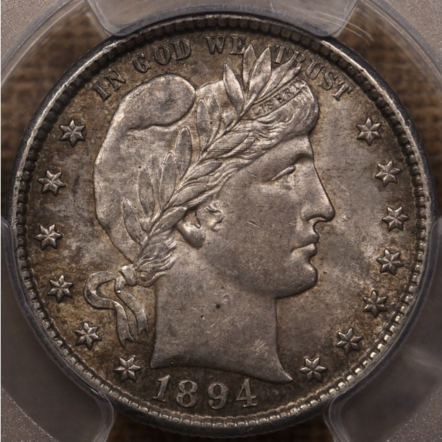 1894-S Barber Quarter PCGS MS62