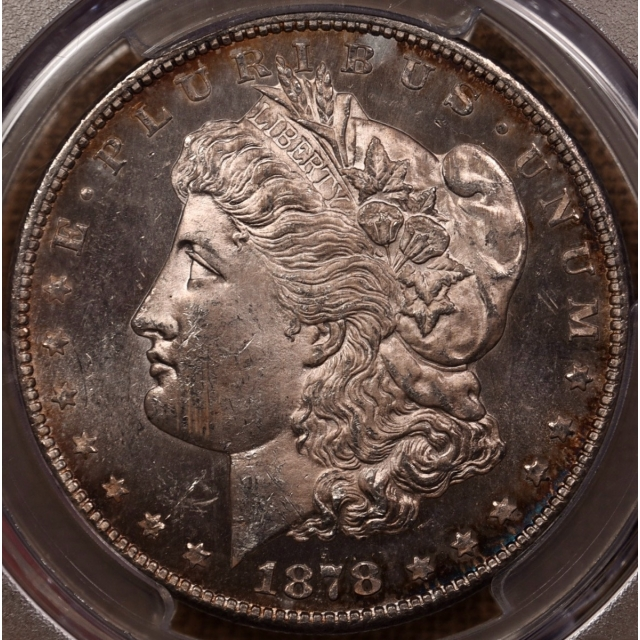 1878-CC V.4 Morgan Dollar PCGS MS63 CAC