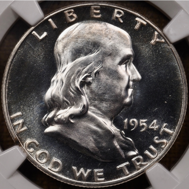 1954 Proof Franklin Half Dollar NGC PR67