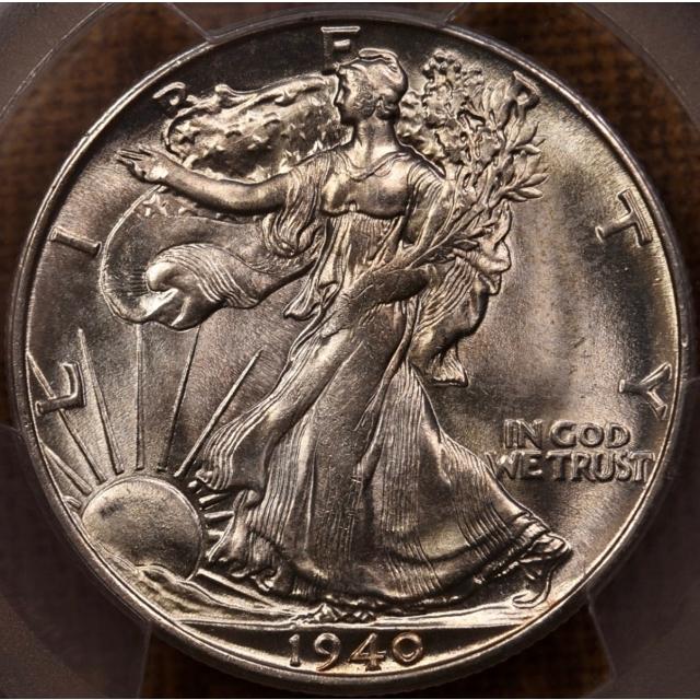 1940-S Walking Liberty Half Dollar PCGS MS65
