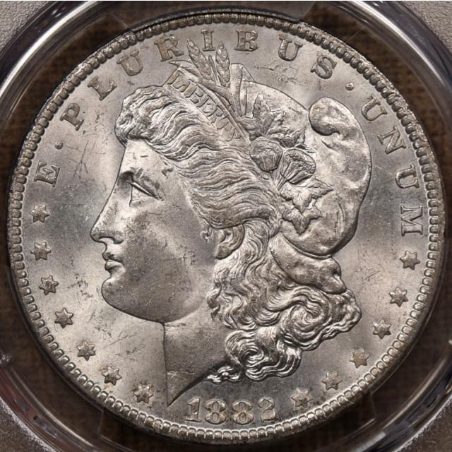 1882-CC Morgan Dollar PCGS MS64, super fresh original