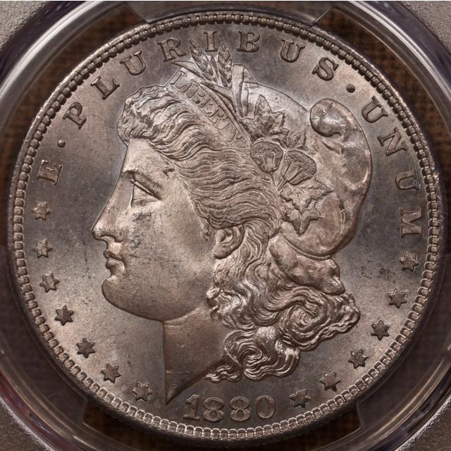 1880-S Morgan Dollar PCGS MS67 CAC