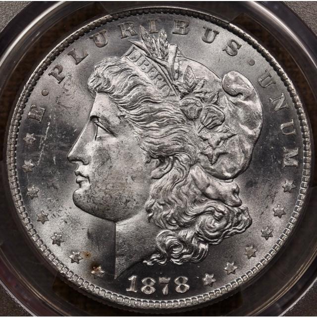 1878 VAM-17 8TF Morgan Dollar PCGS MS64 CAC