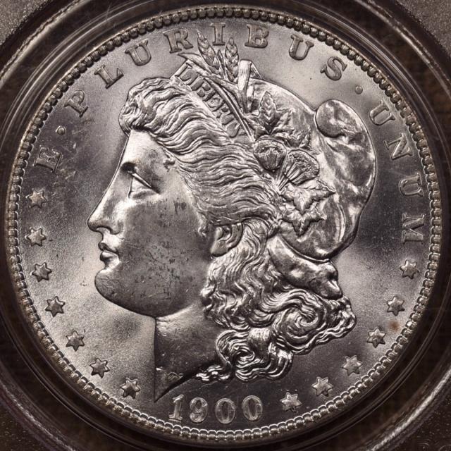 1900-O Morgan Dollar PCGS MS66 OGH CAC