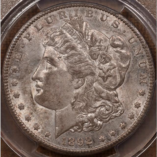 1892-CC Morgan Dollar PCGS AU58 CAC...Perfection!