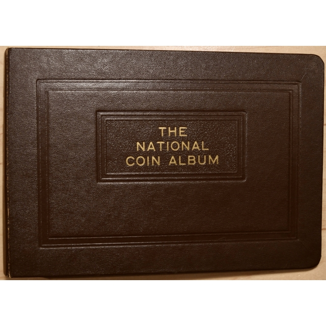 The National Coin Album, Small Size, Empty Binder