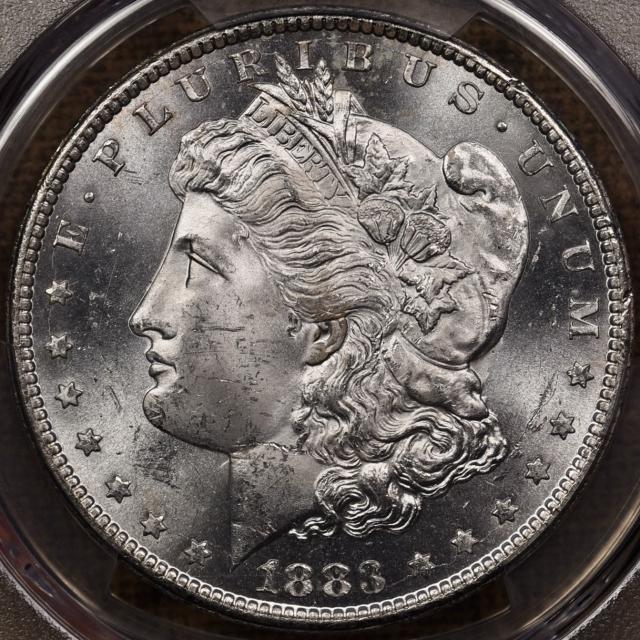 1883-CC Morgan Dollar PCGS MS64