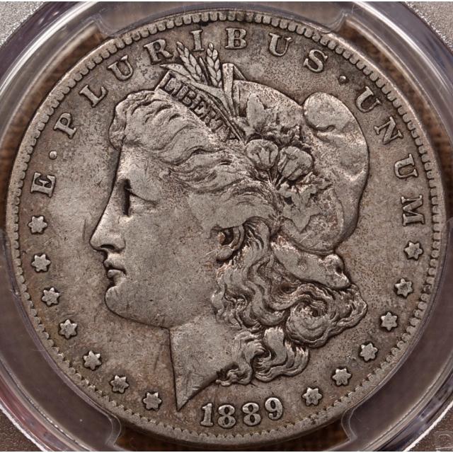 1889-CC Morgan Dollar PCGS VF30 CAC, from Box of 20