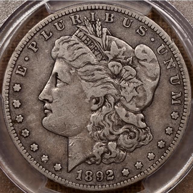 1892-S Morgan Dollar PCGS VF30 CAC