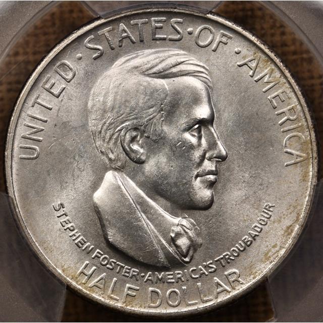 1936-S Cincinnati Silver Commemorative PCGS MS64 CAC