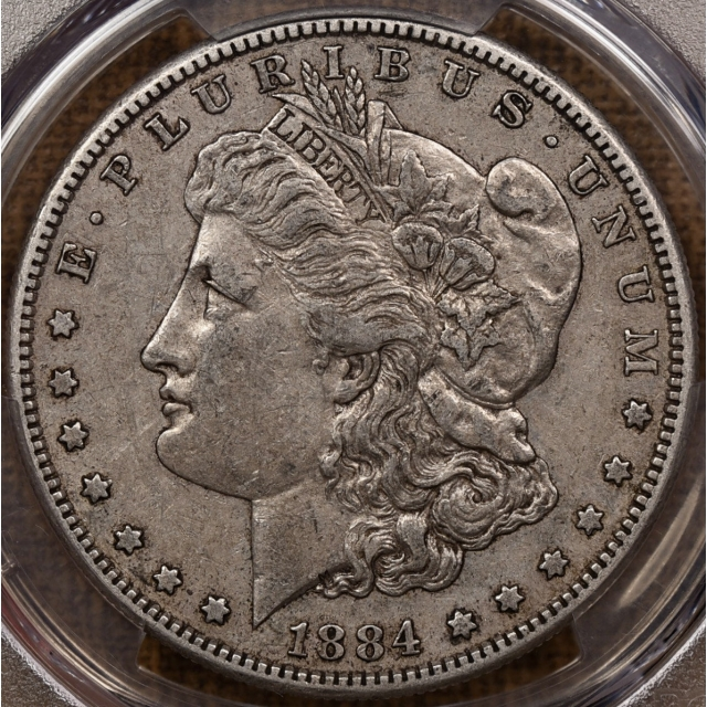 1884-S Morgan Dollar PCGS XF40