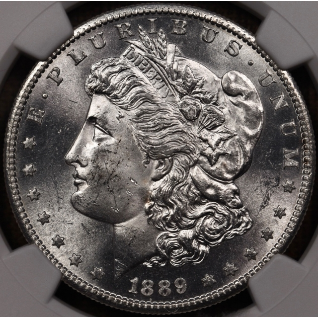 1889-S Morgan Dollar NGC MS63 CAC