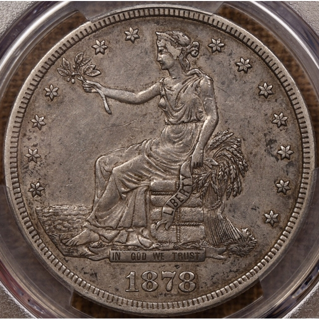 1878-S Trade Dollar PCGS XF40 CAC