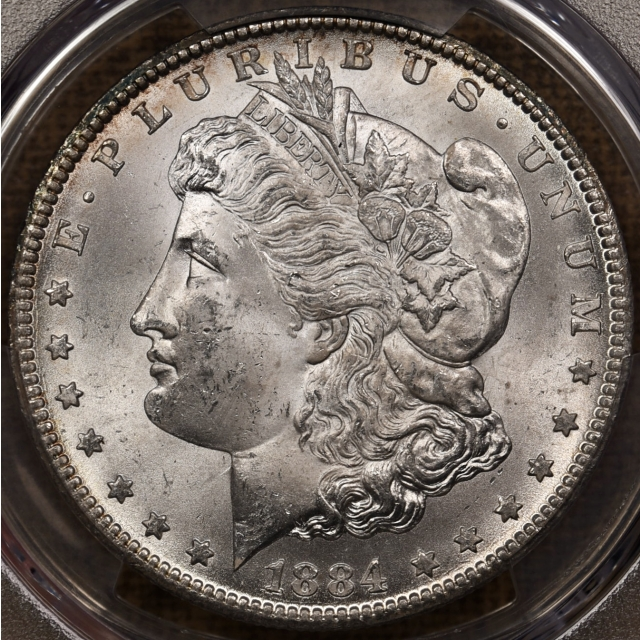 1884-CC Morgan Dollar PCGS MS64