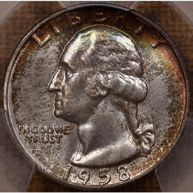 "1958-D Washington Quarter PCGS MS66 from the ""Mint Set deal"""