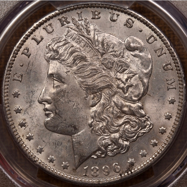 1896-O Morgan Dollar PCGS MS61 CAC, NE Hoard
