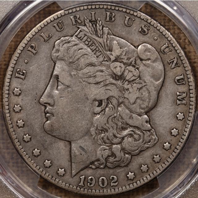 1902-S Morgan Dollar PCGS VF25