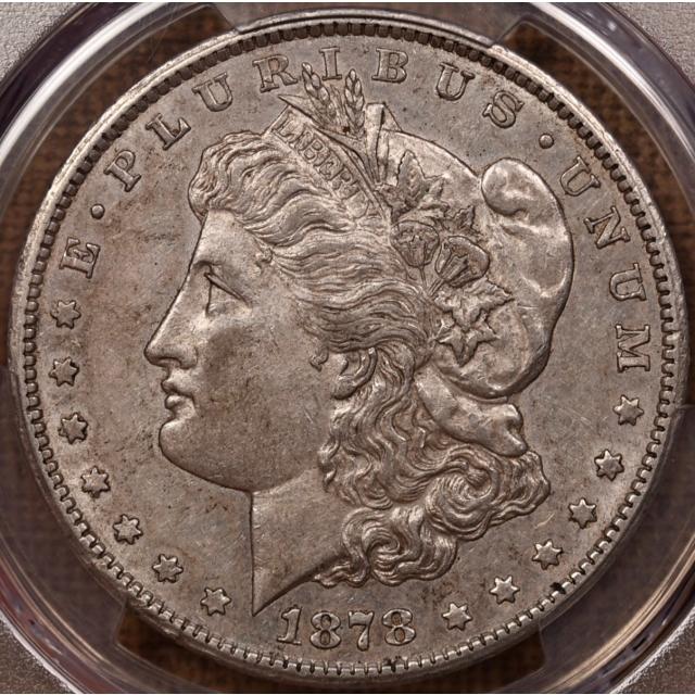 1878-CC Morgan Dollar PCGS AU50