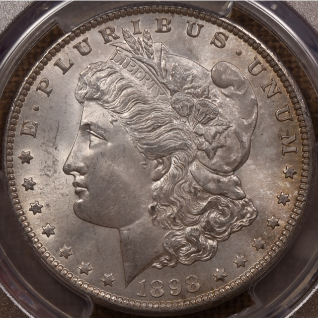 1898-O Morgan Dollar PCGS MS64, wow!