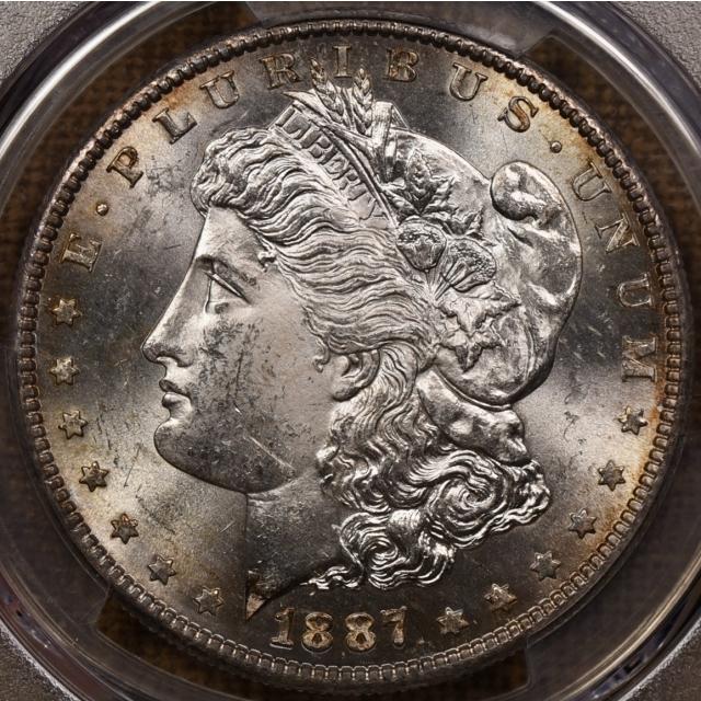 1887-S Morgan Dollar PCGS MS63