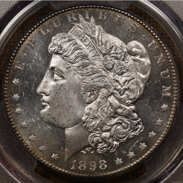 1898-O Morgan Dollar PCGS MS64PL CAC, DMPL in my humble opinion