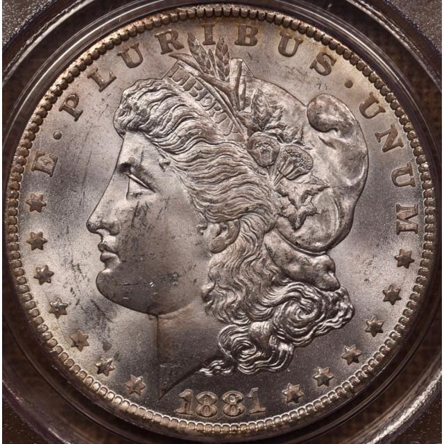 1881-CC Morgan Dollar PCGS MS64 CAC OGH