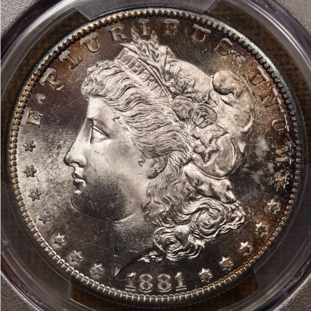 1881-S Morgan Dollar PCGS MS66+ CAC