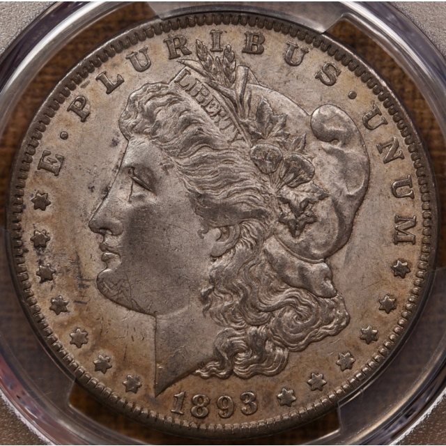 1893 Morgan Dollar PCGS AU53, Drop-Dead ORIGINAL