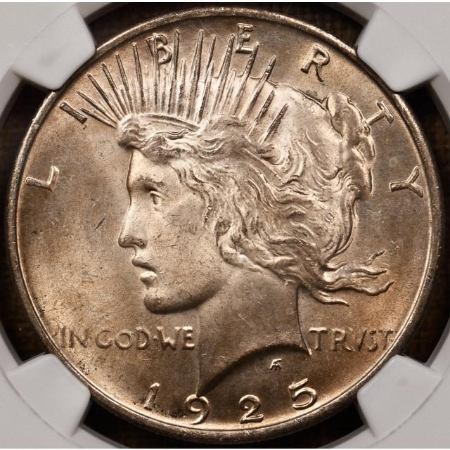 1925 Peace Dollar NGC MS65