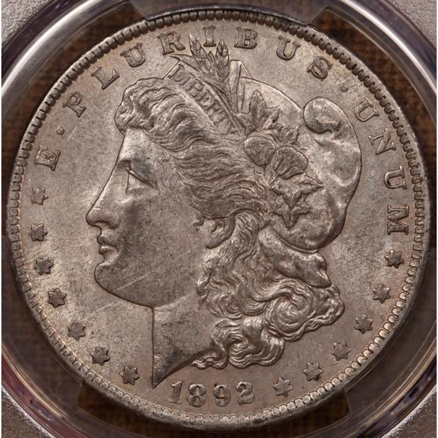 1892 Morgan Dollar PCGS AU53 dusty original