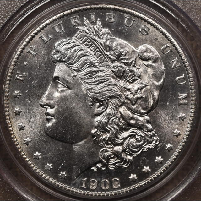 1902-S $1 Morgan Dollar PCGS MS63 (CAC)