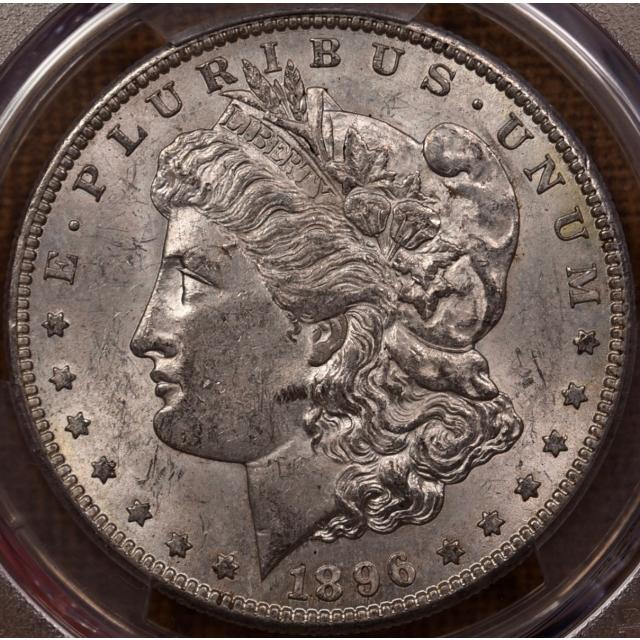 1896-S Morgan Dollar PCGS MS61 CAC, NE Hoard