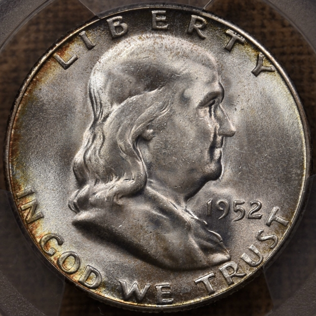1952-S Franklin Half Dollar PCGS MS66, from the Mint Set Deal