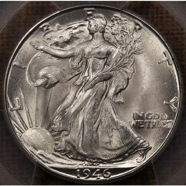 1946-D Walking Liberty Half Dollar PCGS MS66