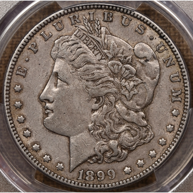 1899 Morgan Dollar PCGS XF45+